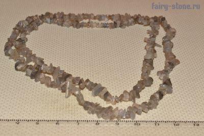 Бусины из лунного камня(лабрадор) (в наличии 3шт)